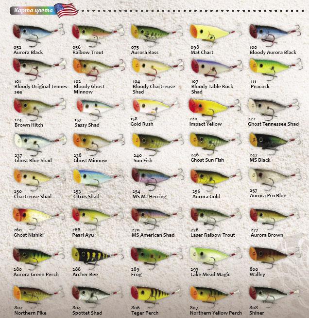 Craft G-Splash color card USA