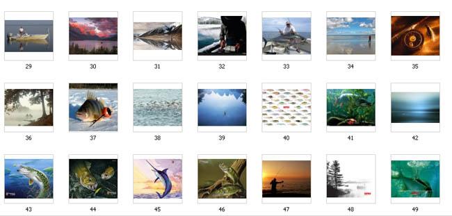 фотообои рыбалка: